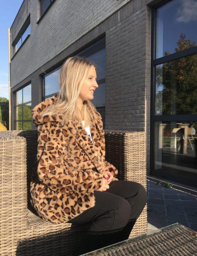 Leopard – jas – faux fur