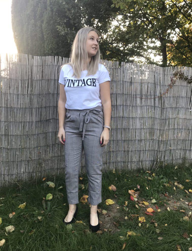 Geruite broek – dameskleding online