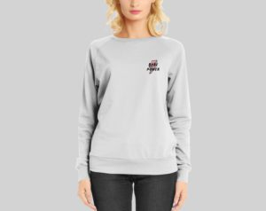betaalbare dameskleding - sweater vrouwen - babe power