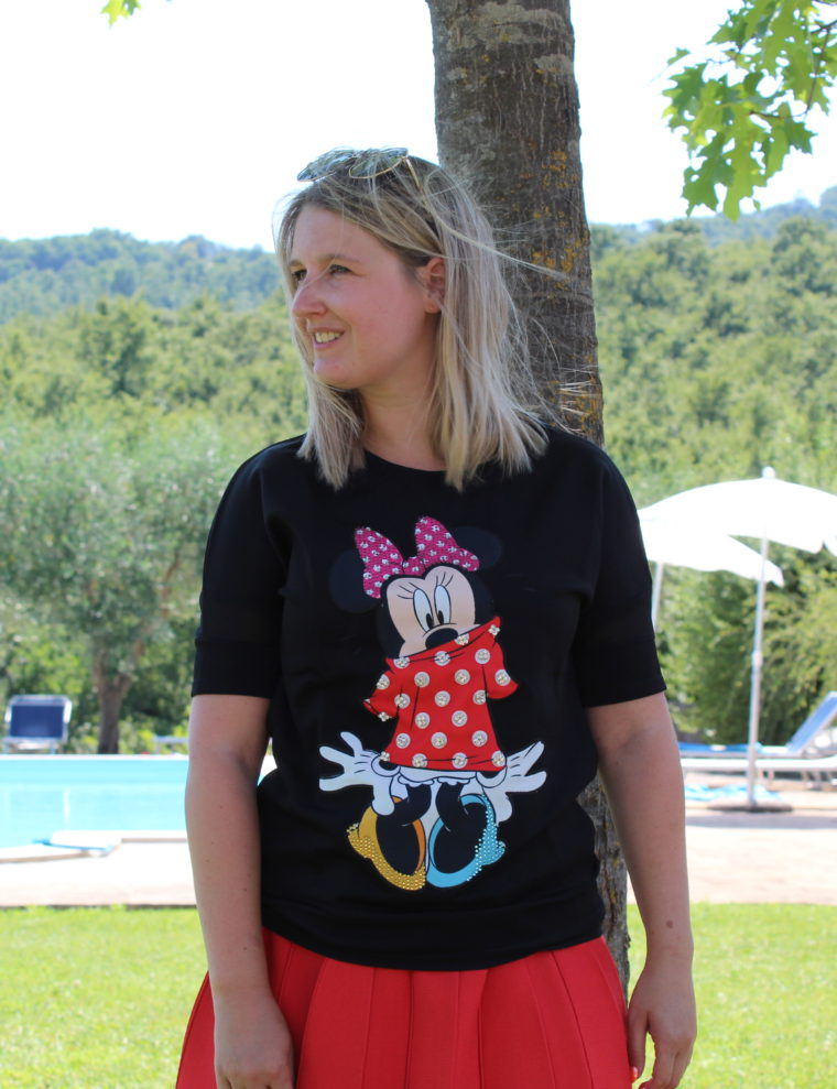 Minnie mouse jersey